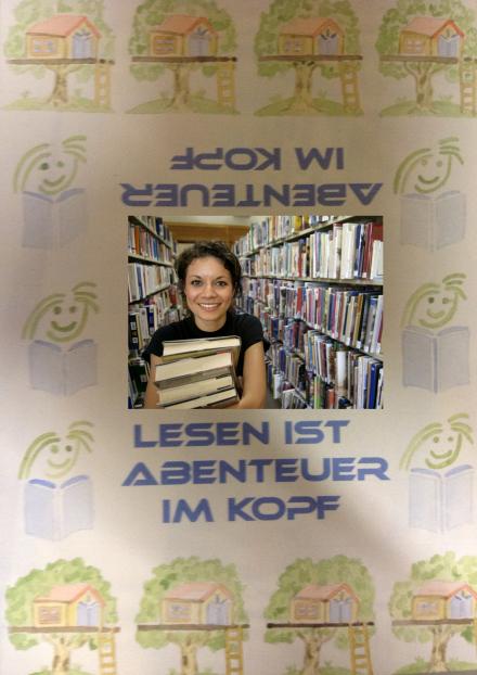 Lesen ist Abenteuer im Kopf-PNG