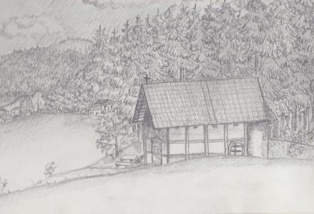 Taufkapelle-Bleistift