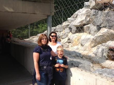 Ausflug mit Nicos Godi in den Tierpark in Innsbruck