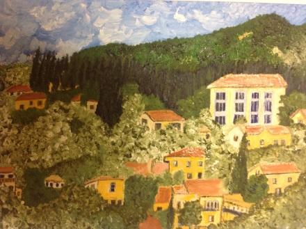 Am Gardasee-Blick vom Hotelzimmer