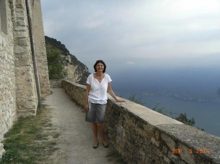 Margit strahlt im Urlaub mit der Sonne um die Wette